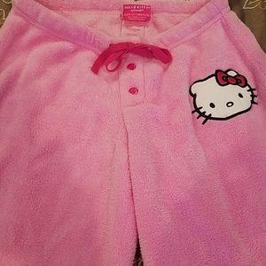 Hello Kitty pajama pants.